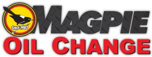 Magpie Oil Change Logo