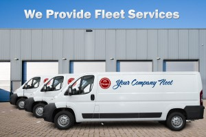 We provide Fleet Services for your company vehicles